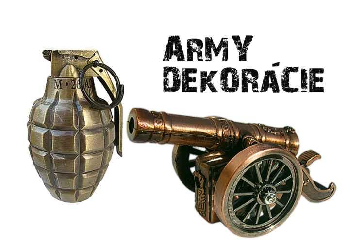 Dekorácie Army shop Nitra