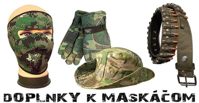 Maskáče Army shop Nitra