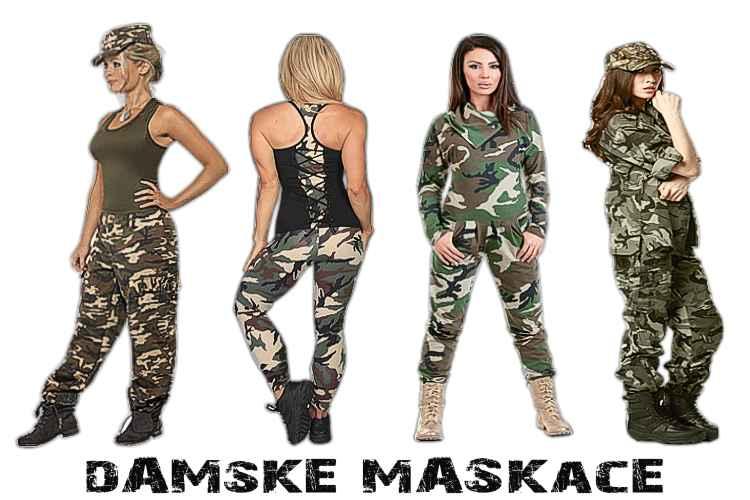 448c659d5e71 Dámske maskáče Army shop Nitra